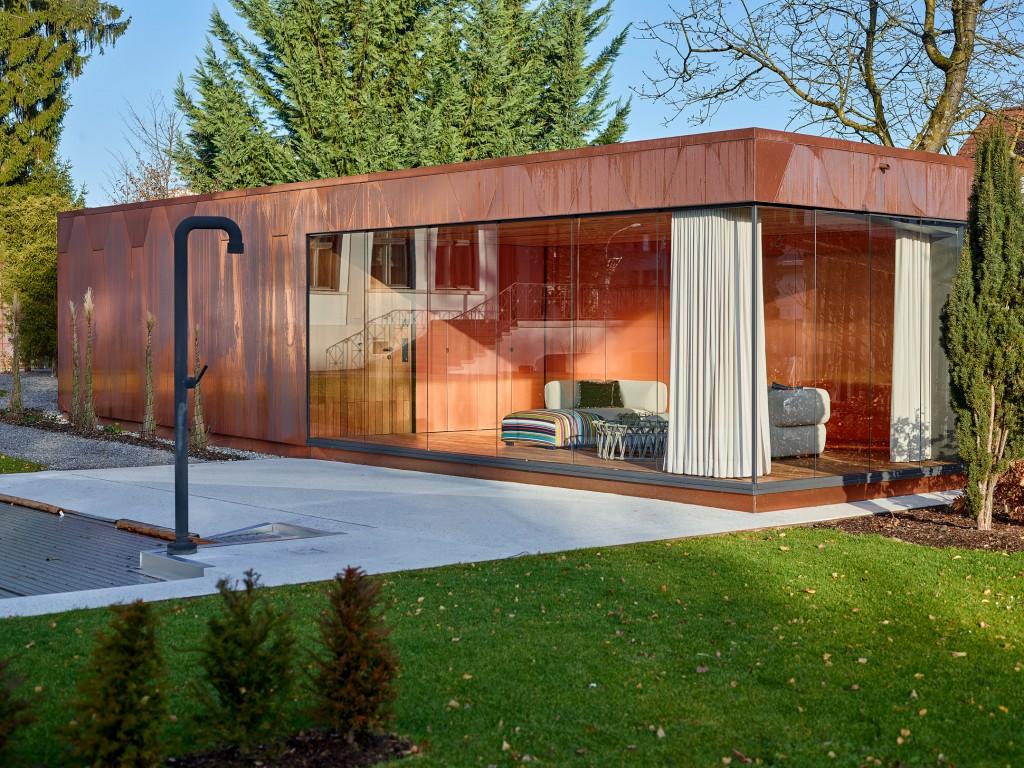 Verführerisch Poolhaus Bauen Ideen Von Verglasung (in Zusammenarbeit Mit Hoffenscher Architekten) Einfachverglastes